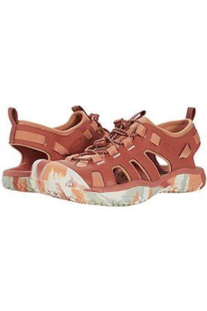 Keen Damen Schuhe - Damen SOLR SANDAL-W Wassersandale, Rotholz/Fasan