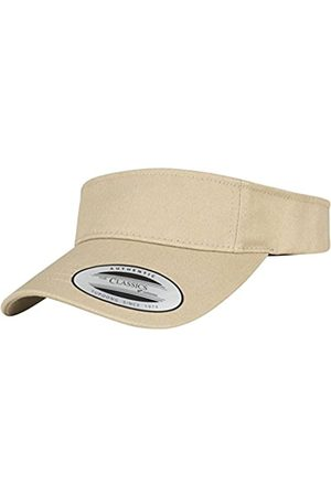 Flexfit Yupoong Damen und Herren Curved Visor Cap - Unisex Sonnenblende mit Klettverschluss - Farbe one size
