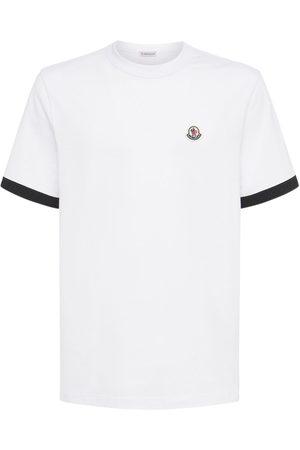 MONCLER T-shirt Aus Baumwolljersey