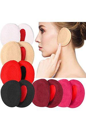 SATINIOR 6 Paar Ohrenschützer Bandlos Vlies Ohrenwärmer Outdoor Ohrenschützer Unisex