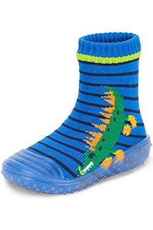Sterntaler Baby - Jungen Adventure-Socks, Socke mit Gummisohle, Wasserschuh