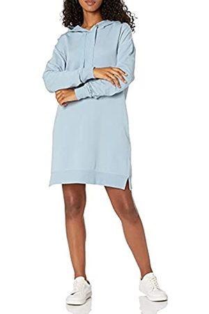THE DROP Damen Iona Mini-Sweatshirtkleid mit Kapuze und langen Ärmeln