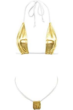 SHERRYLO Damen Bikinis - Micro Bikini String Thong Badeanzug Damen Bademode Mini Swimwear Minimal Coverage