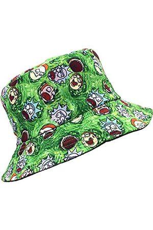 SINLOOG Bucket Hat, Rick and Morty Unisex Sonnenhut, wendbar, zweiseitig/schwarz