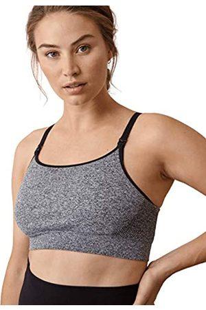 Boob Damen Verstellbarer Still-Schwangerschafts-BH für Sanften Sportarten aus nachhaltigen Fasern mit Einfachem Stillzugang (S)