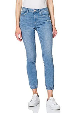 ONLY Damen ONLWAUW Life MID SK Elastic MB ANK BJ Jeans