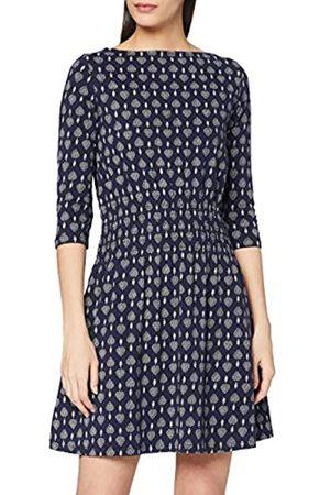 People Tree Damen Freizeitkleider - Damen Elliot Motif Print Dress Lssiges Kleid