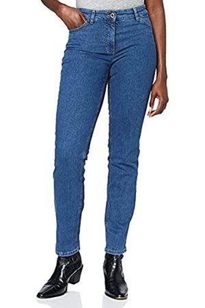 Gerry Weber Damen 92307-67930 Straight Jeans
