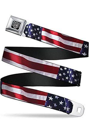 Buckle-Down Herren Sicherheitsgurt Americana W30158, amerikanische Flagge, 3,8 cm breit, 61-96