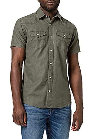 JACK & JONES Herren JPRBLUSUMMER Coated Shirt S/S Western Hemd