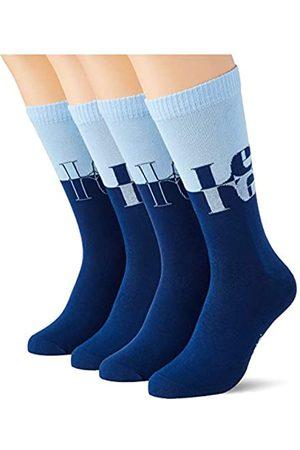 Levi's Herren Socken & Strümpfe - Unisex-Adult Mirrored Logo Regular Cut (2 Pack) Socks