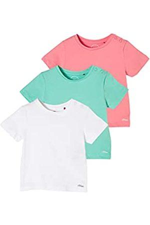 s.Oliver Unisex - Baby 3er-Pack T-Shirts aus Jersey 74