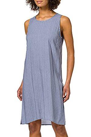 Blue Seven Damen Alloverdruck, U-Boot-Ausschnitt Kleid