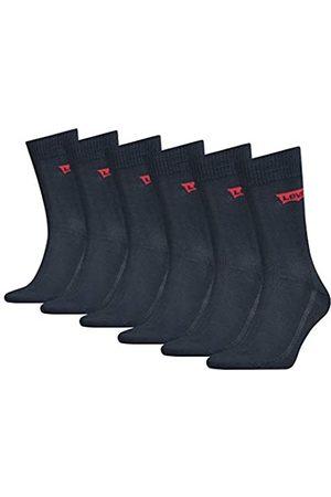 Levi's Herren Socken & Strümpfe - Unisex-Adult Batwing Logo Regular Cut (6 Pack) Socks