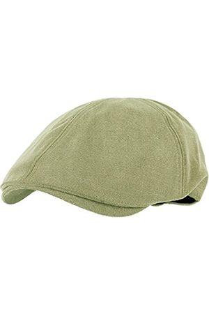 WITHMOONS Herren Hüte - Schlägermütze Golfermütze Schiebermütze Simple Newsboy Hat Flat Cap SL3026 (Green)