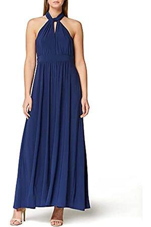 TRUTH & FABLE Damen Freizeitkleider - Amazon-Marke: Damen Maxi A-Linien-Kleid, 42