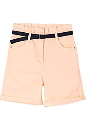 s.Oliver Mädchen Shorts - Mädchen Twill-Shorts mit Paperbag-Bund 140.REG