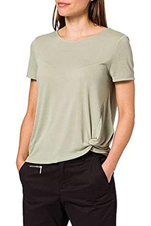 TOM TAILOR Damen 1025267 Basic T-Shirt, 15615-Prairie Grass Green