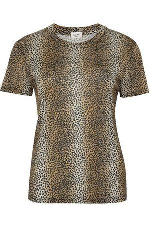Céline Damen Shirts - Klassisches T-Shirt Mit Rundhalsausschnitt