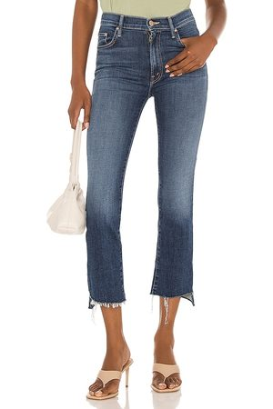 Mother The Insider Crop Step Fray in . Size 24, 25, 26, 27, 28, 29, 30, 31, 32.