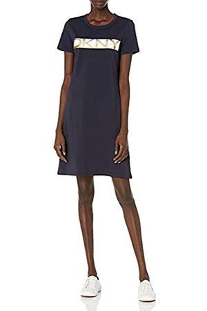 DKNY Damen T-Shirt Dress Kleid