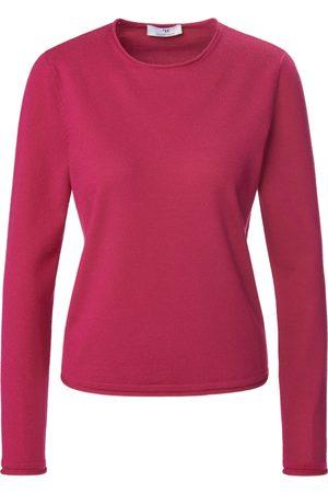 Peter Hahn Damen Pullover - Rundhals-Pullover pink