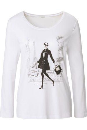 Uta Raasch Damen Shirts - Shirt Rundhals-Ausschnitt weiss