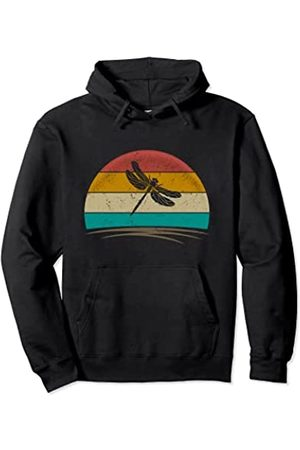 Wowsome! Vintage Dragonfly Retro Distressed Dragonfly Lover Men Women Pullover Hoodie