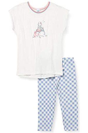 Sanetta Mädchen kurz beige Baby-und Kleinkind-Schlafanzüge
