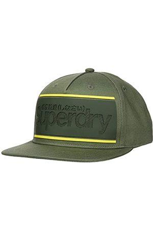 Superdry Herren Caps - Herren Stripe Logo Trucker Baseball Cap