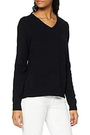 VILA Damen Strickpullover - Clothes Damen Viril L/S V-Neck Knit Top Pullover