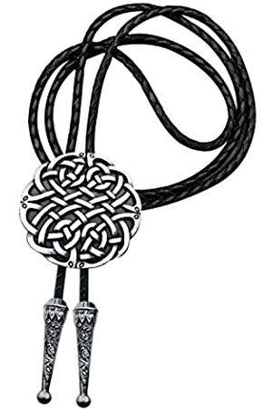 YOQUCOL Bolo-Krawatte für Herren mit keltischem Kreuz, irisch, schottisch