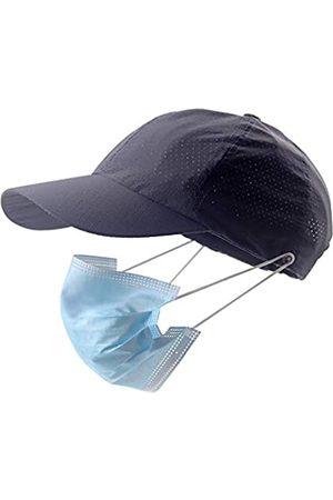 Generies Herren Caps - Atmungsaktive Baseballmütze mit Gesichtsmaskenhalter-Knopf