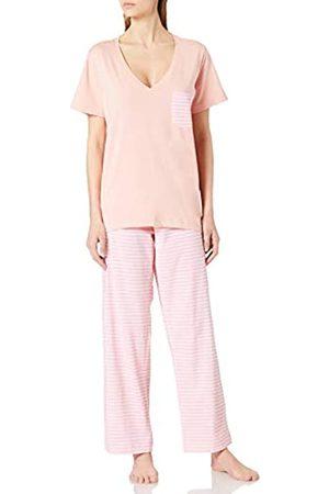 IRIS & LILLY Damen Zweiteiliger Schlafanzug