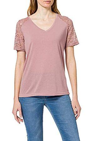 JDY Damen STINNE S/S LACE TOP NOOS JRS RPT T-Shirt