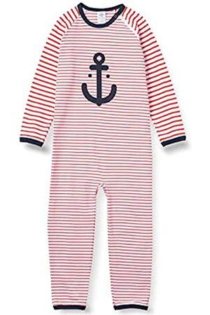 Sanetta Jungen Strampler rot Baby- und Kleinkind-Schlafanzüge
