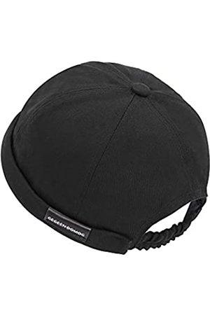 jerague Schirmmütze aus Baumwolle, verstellbar, für Freizeitliebhaber, visierlos, Matrosen-Skullcap