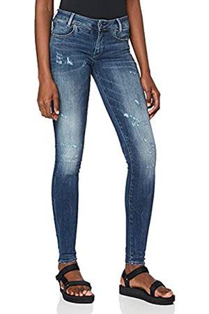 G-Star Damen Skinny - Damen Jeans D-Staq 5-Pocket Mid Waist Skinny