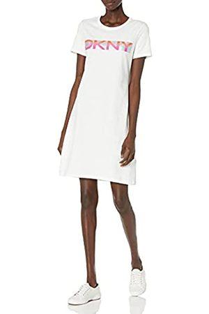 DKNY Damen Freizeitkleider - Damen T-Shirt Dress Kleid