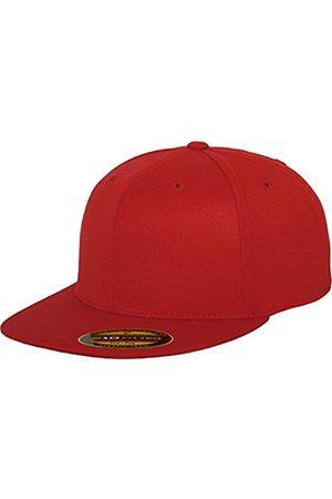 Flexfit Herren Caps - Erwachsene Mütze Premium 210 Fitted, (red)