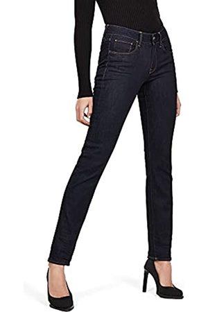 G-Star Damen Straight - Damen 3301 Deconstructed Mid Waist Straight' Jeans
