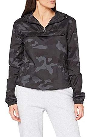 Urban classics Damen Jacken - Damen Ladies Camo Pullover Jacke, Mehrfarbig (Darkcamo 00707)