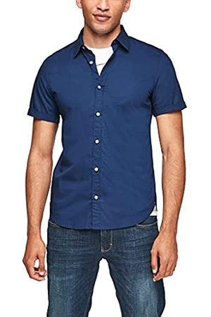 s.Oliver Jungen T-Shirts - Herren Slim: Stretchiges Kurzarmhemd S