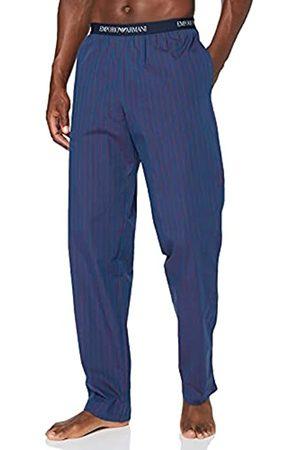 Emporio Armani Underwear Mens Trousers Yarn Dyed Woven Sweatpants
