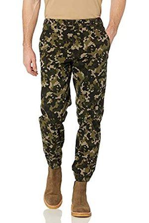 Amazon Herren Jogginghosen - Joggerhose mit gerader Passform Anzughose