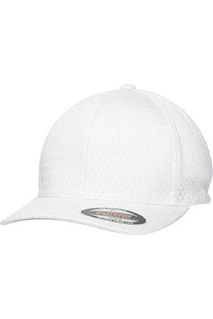 Flexfit Uni Athletic Mesh Cap, White