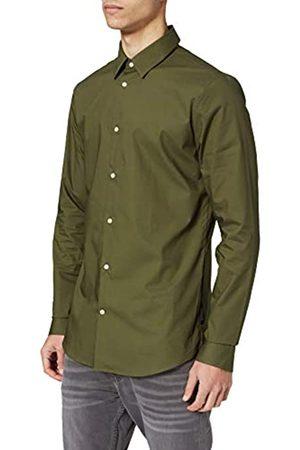 Scotch&Soda Herren Business - Herren Klassisches Slim Fit Shirt aus Baumwoll-Elasthan-Mischung Hemd