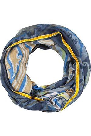 Codello Damen Loop Schlauchschal | Paisleymuster mit Samtbordüre | aus 100% recyceltem Polyester Mode-Schal