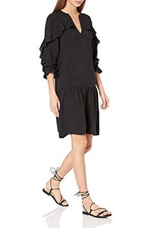 THE DROP Emerson romantisches Kleid mit tiefer Taille und Rüschen, für Damen