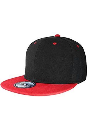 Falari Klassische Snapback-Mütze, Hip-Hop-Stil, flach, blanko, einfarbig